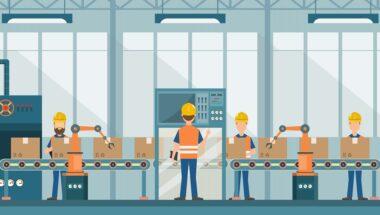 smart industrial factory